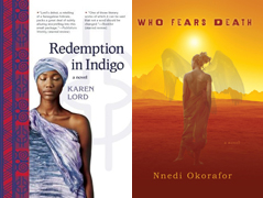 Cover images for Redemption in Indigo and Who Fear Death