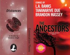 Distances and The Ancestors cover images